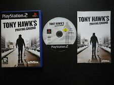 TONY HAWK'S PROVING GROUND : JEU PLAYSTATION 2 PS2 (Activision COMPLET suivi)