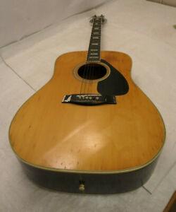 Vintage YAMAHA FG-201B ACOUSTIC GUITAR  6 Strings Instrument  #711