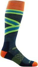 Darn Tough Men's 179420 Rumble Over The Calf Cushion Sock Size L