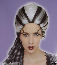Dark Queen Wig, Halloween Costume Accessories Adult Dress Up Cosplay Theater
