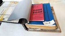 1971- 1994- Curtis Key Cutter Code Book/ Binder