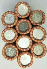 1943 Steel Penny Roll P-D-S (50) Fifty Steel Cent Lincoln Cent