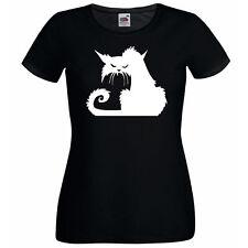 Fruit of the Loom Damen-T-Shirts für Katzen