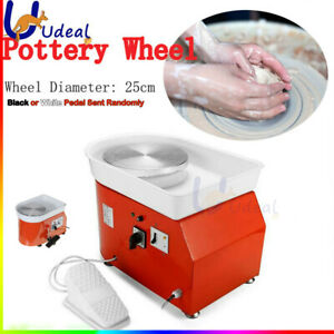 350W Electric Pottery Wheel Ceramic Machine Work Clay Art Craft Accessories Kits