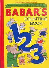 Babar's Counting Book by Laurent de Brunhoff (2012, Hardcover, Revised)