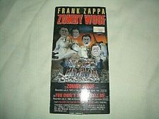 """FRANK ZAPPA - ZOMBY WOOF *RARE* 3"""" MINI CD - EXCELLENT CONDITION - USED"""