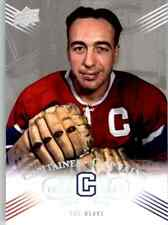 2008-09 Upper Deck Montreal Canadiens Centennial Set Toe Blake #211