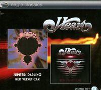 Heart - Jupiters Darling + Red Velvet Car (2014)  2CD  NEW/SEALED  SPEEDYPOST