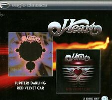 Heart - Jupiters Darling + Red Velvet Car (2014)  2CD NEW/SEALED  SPEEDYPOST