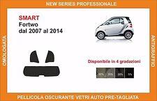 pellicola oscurante vetri pre tagliata smart fortwo dal 2007-2014 kit posteriore