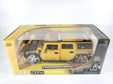 Jada Toys Dub City Kustoms 1/24 Scale Hummer H2 Yellow 2004 NEW SEALED BOX