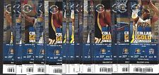 2012-13 NBA INDIANA PACERS BASKETBALL COMPLETE SEASON FULL TICKETS - 41 TICKETS