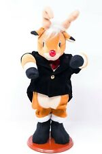 Dancing Musical Rudolph Animated Singing Rudolph The Red Nosed Reindeer