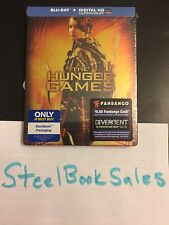 The Hunger Games Blu Ray & Digital UV Steelbook Best Buy Exclusive New Sealed