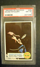 1969 MAN ON THE MOON CARD #28A  GRADED PSA 8