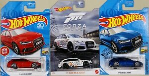 Hot Wheels '17 Audi RS 6 Avant Lot Of 3 Cars