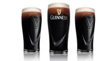 1 Guinness Pint Glass Embossed Harp Beer Pub 20oz Guiness Gift