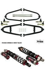 TRX 450R  Chromoly Adjustable A  Arms +2    Elka Stage 3 Shocks    Alba Racing