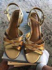 Soft Style by Hush Puppies Starlite Metallica Multi Met sandals 9 EUC