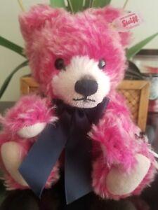 Steiff 2015 Summer Festival Deep Pink Teddy Bear