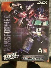 Optimus Prime Hasbro ThreeZero War For Cybertron Siege DLX