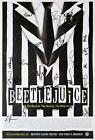BEETLEJUICE Partial Cast Alex Brightman Kerry Butler Signed Poster