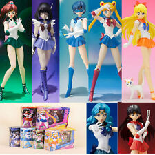 Girls Sailor Moon Action Figures Movable Pretty Guardian Tsukino Usagi PVC Toys