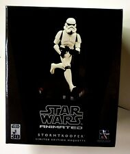 Star Wars Stormtrooper Animated Maquette Statue .