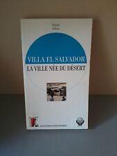 David solon - Villa el Salvador, la ville née du désert