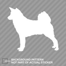 Canaan Sticker Die Cut Decal dog canine pet