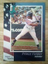 Prince Fielder 2002 Multi-Ad Ogden Raptors Minor League Rookie RC First Year