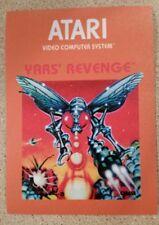 Yar's Revenge Atari 2600 Box sticker. 3.5 x 5. (Buy 3 stickers, Get One Free!)