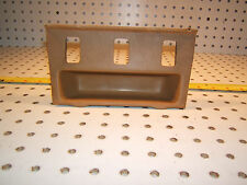 Mercedes C126 560SEC Center console PALOMINO front Genuine 1 Tray with 3 Slots