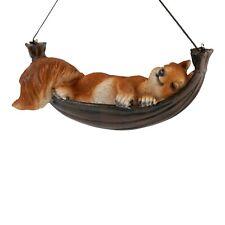 Felix Sleeping Hanging Squirrel Animal Garden Ornament