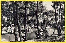 cpsm St BRÉVIN en 1963 (Loire Atlantique) TERRAIN de CAMPING Tentes Automobiles