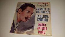 """MARCO ANTONIO MUNIZ La Ultima Cancion RCA VICTOR 1895 7"""" 45 VINYL MEXICO IMPORT"""