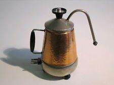 VINTAGE RARA CAFFETTIERA MOKA ANNI '60/70 IN RAME CAFFE' ITALY DESIGN