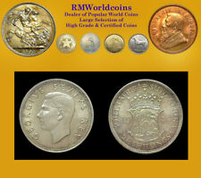 South Africa 1948 2 1/2 Shillings Rare Gem, Bus Strike, Not Prf, Key, Mtg 1,600