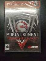 Mortal Kombat: Deadly Alliance Greatest Hits (PlayStation 2, PS2 2002) NEW