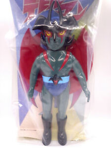 "Medicom Toy DEVILMAN 1972 Green Ver. 9.8"" Sofubi Project 1/6 Limited Retro Japan"