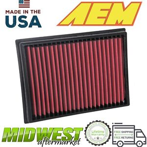 AEM Dryflow Washable Synthetic Air Filter Fits 2010-2019 Toyota 4Runner 4.0L