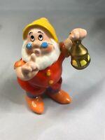 Vintage Walt Disney Snow White Doc Dwarf Figurine Classic Collectible Japan GUC