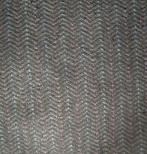 "54"" Wide Beige brown light pink Chenille Herringbone Pattern Upholstery Fabric"