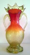Antico vintage Murano art glass vase salviati. Barovier