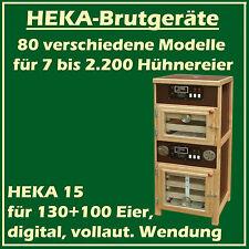 Heka 15 - entièrement automatique incubateur avec sept.Dispositif d'éclosion -