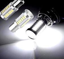2pcs BA15S 12V 1156 LED Car Backup Reverse Light White Bulb 33-SMD 5630 5730 New