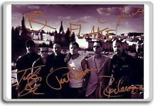 Rammstein Autographed Preprint Signed Photo Fridge Magnet