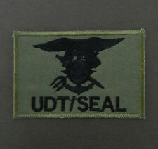 S.Korea Korean Navy Special Forces UDT/SEAL Team Unit Insignia Subdued Patch