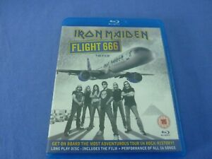 Iron Maiden Flight 666 Blu-ray The Film & Concert + Booklet Free Tracked