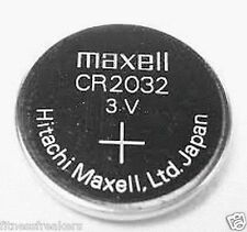 CR2032 Maxell Battery 3V Lithium Button Coin Cell Made In Japan : Qty : 2 Cell